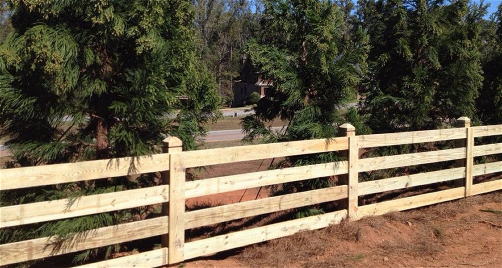 Akridge Fence: Wood Fencing | Farm Fencing | Horse Fencing | Welded ...